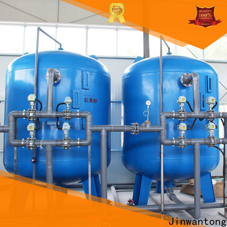 Jinwantong high effecient sand filter for above ground pool supply for grit removal
