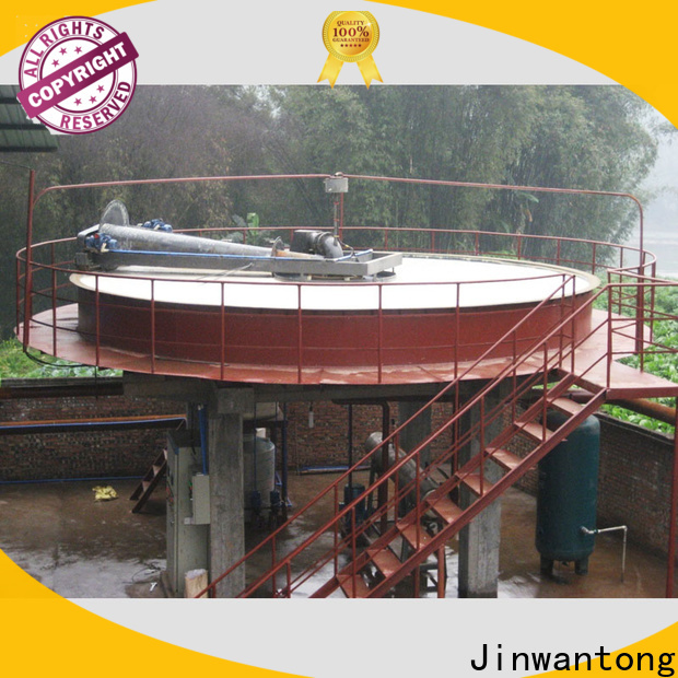 Jinwantong circular dissolved air flotation for water clarification directly sale for fiber recovery