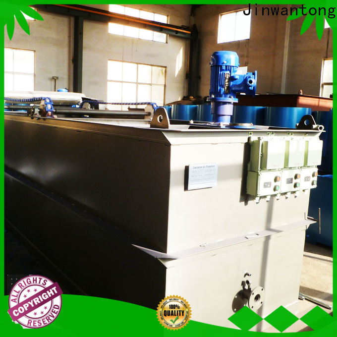 Jinwantong advanced cavitation air flotation plant directly sale for product recovery