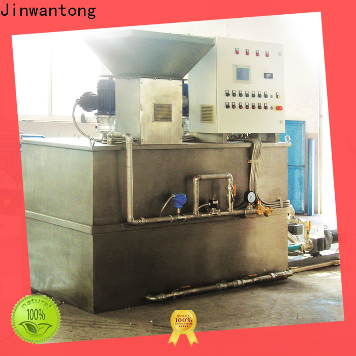 Jinwantong chemical dosing system water treatment plant suppliers for powdered and liquid chemicals