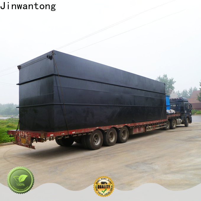 Jinwantong wholesale packaged sewage treatment plant manufacturers for business for hospital