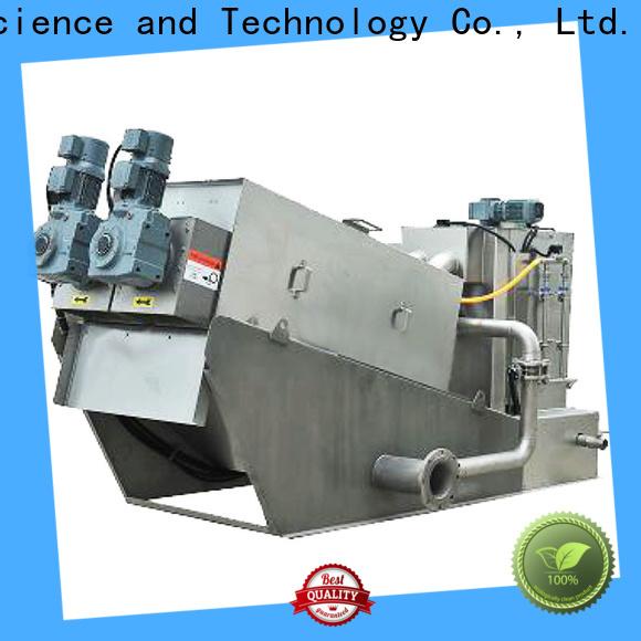 Jinwantong volute sludge dewatering machine suppliers for wineries