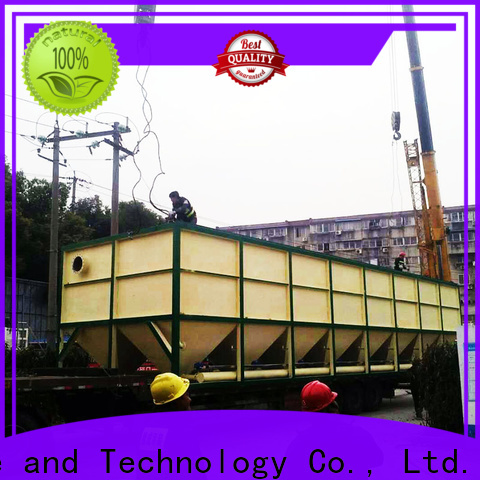 custom waste water treatment plant manufacturer company for heavy metal remove