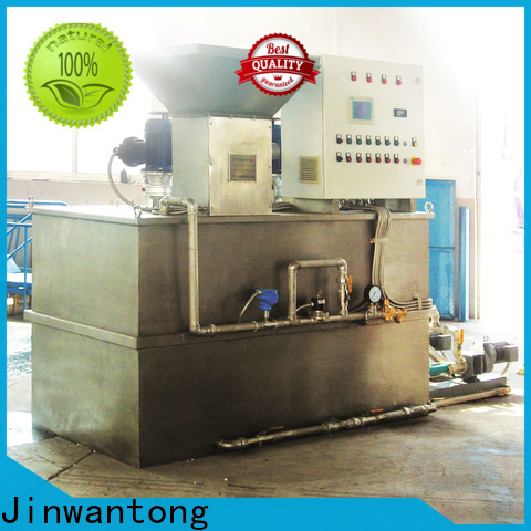 latest sewage treatment plant chemical dosing company for powdered and liquid chemicals