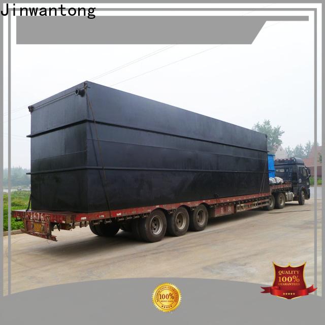 Jinwantong custom sewage treatment plant series for hotel