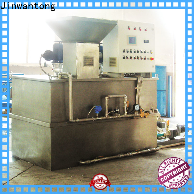 Jinwantong polymer dosing system suppliers for mix water and chemicals