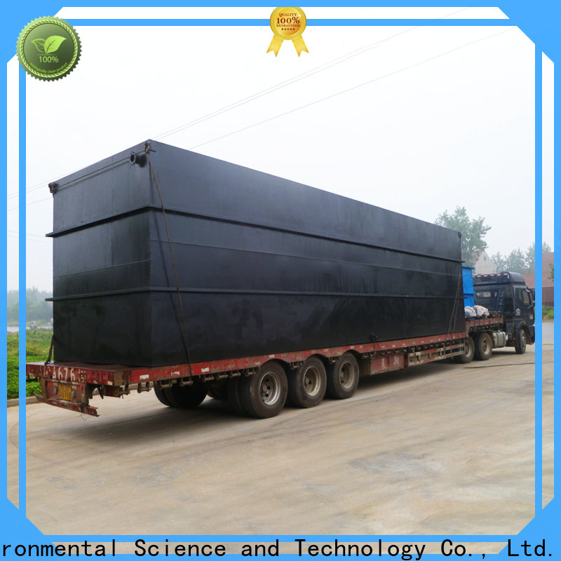 Jinwantong New package sewage treatment plant suppliers suppliers for residential quarter