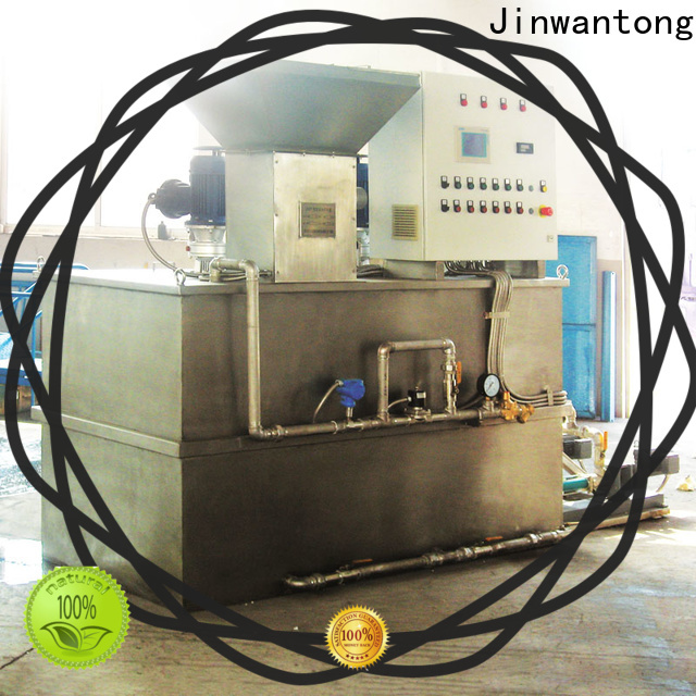 automatic skid mounted chemical dosing system for business for mix water and chemicals