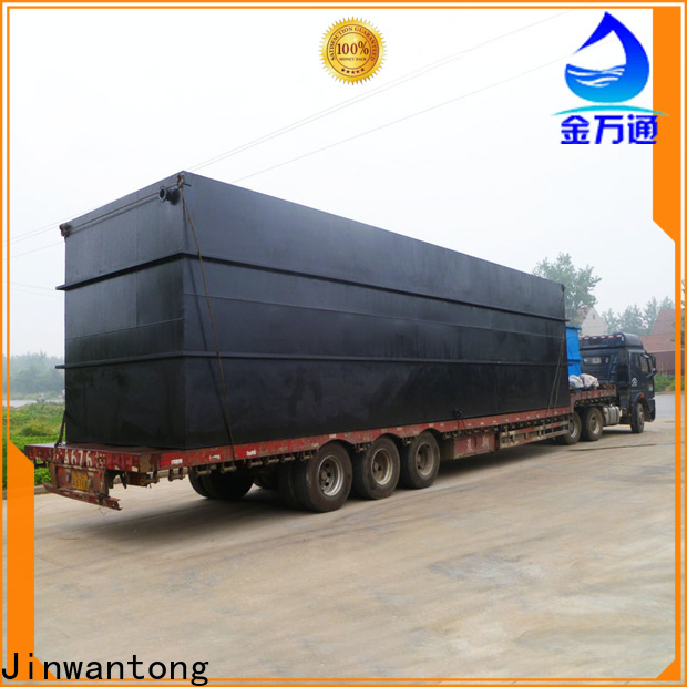 Jinwantong sewage treatment system supply for hotel