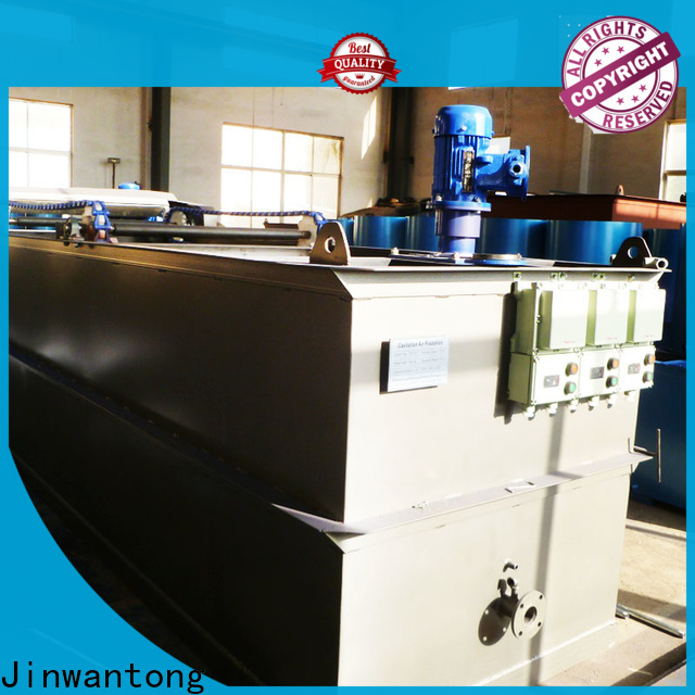 Jinwantong cavitation air flotation manufacturer with good price for polishing of biological treatment effluent