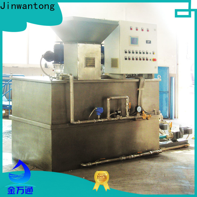 Jinwantong best chemical dosing system suppliers wholesale for powdered and liquid chemicals