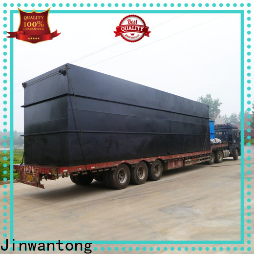 wholesale best domestic sewage treatment plant series for residential quarter