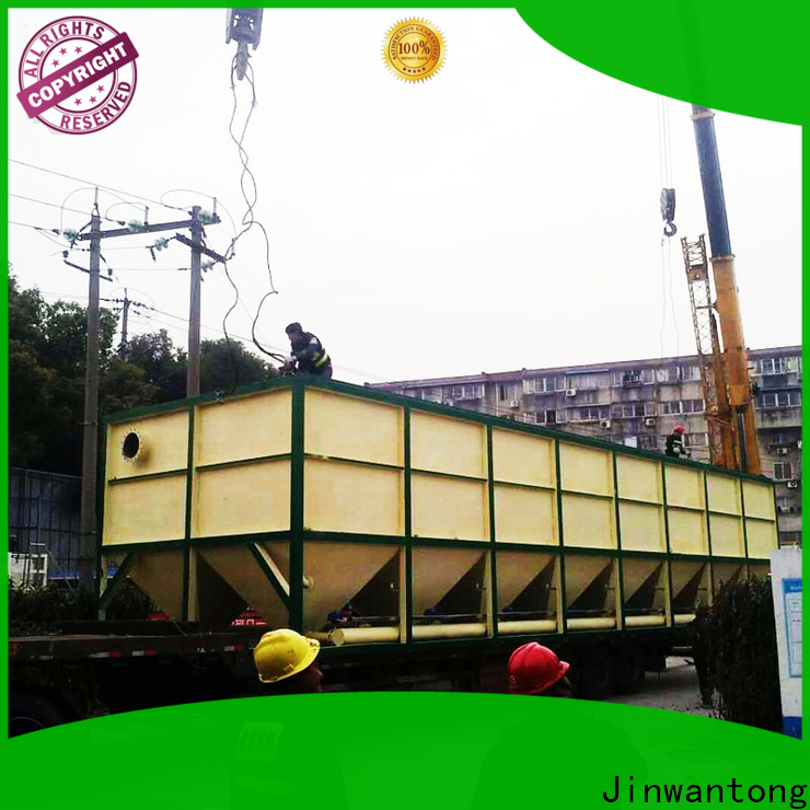 Jinwantong inclined plate clarifier design factory for chemical waste water
