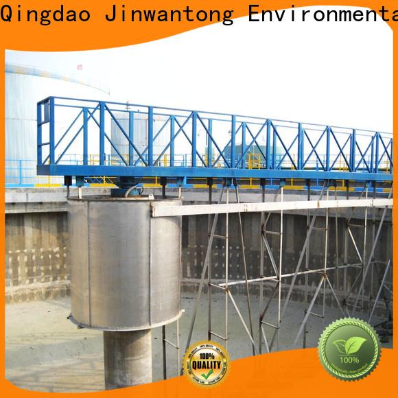 top bridge scraper manufacturers for final sedimentation tank