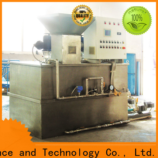 custom flocculant dosing system wholesale for powdered and liquid chemicals