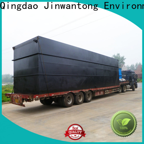 Jinwantong package sewage treatment plant supply for oilfield labor camp