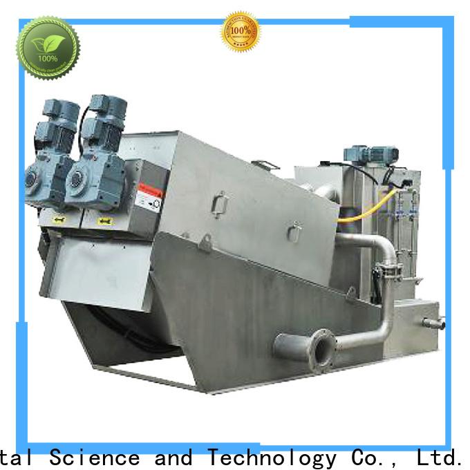 Jinwantong top sludge screw press company for solid-liquid separation