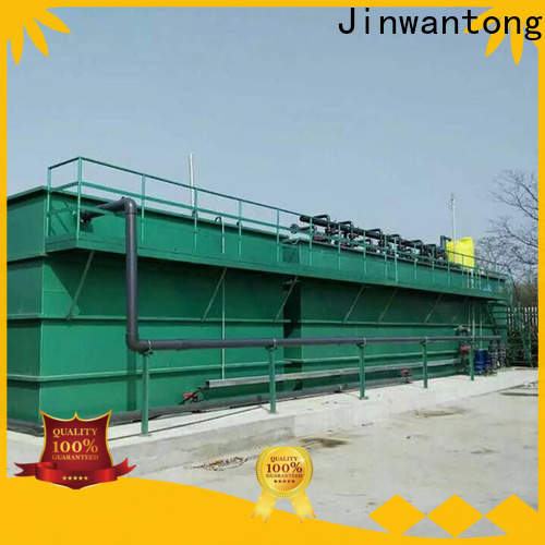 Jinwantong mbr system wastewater treatment customized for paper industry