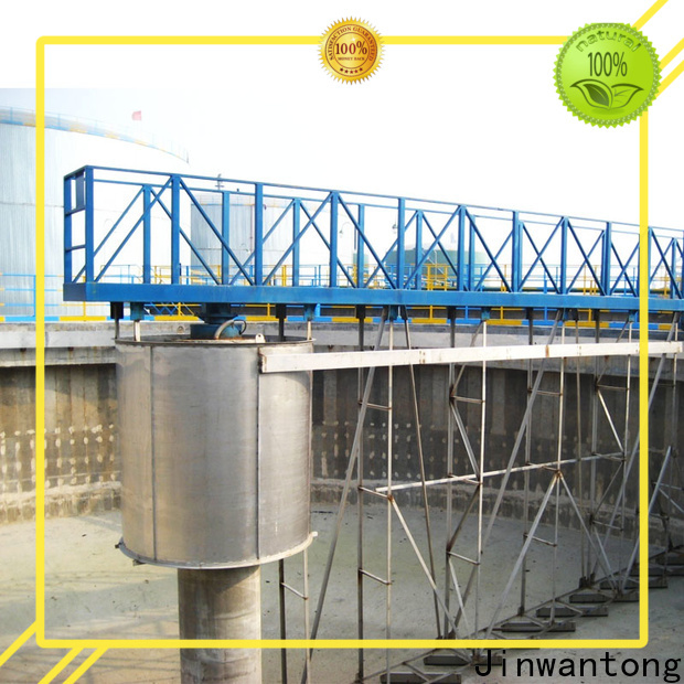 Jinwantong high strength sludge scraper system supply for final sedimentation tank