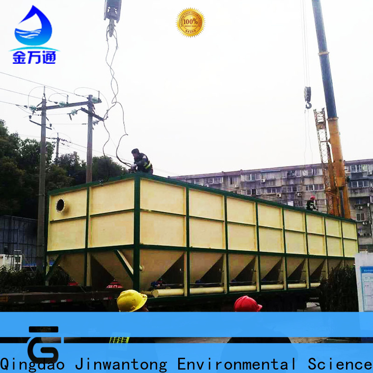 durable inclined plate settler unit size calculation directly sale for chemical waste water