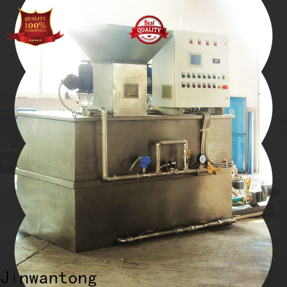 Jinwantong chemical dosing system factory for powdered and liquid chemicals