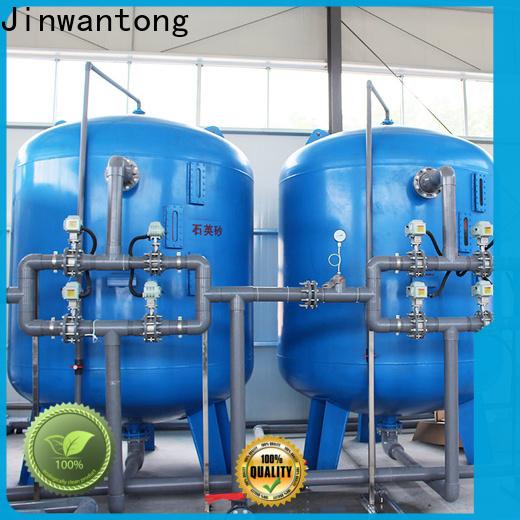 Jinwantong New sand filter design factory for alga removal