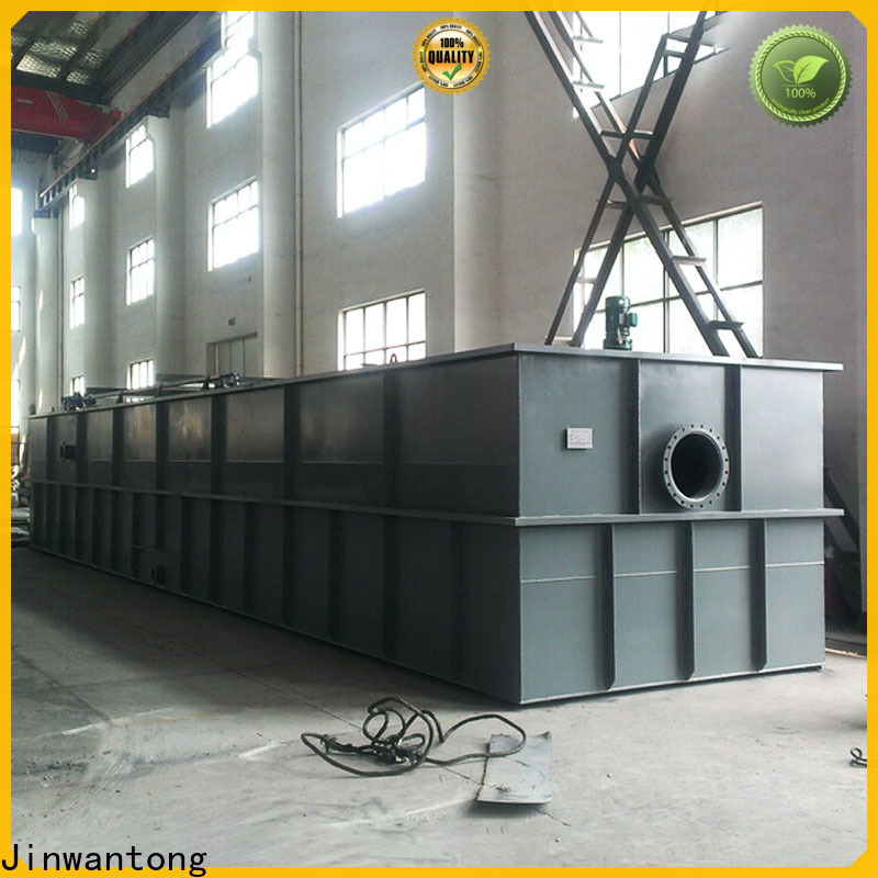Jinwantong professional dissolved air flotation system company for food processing