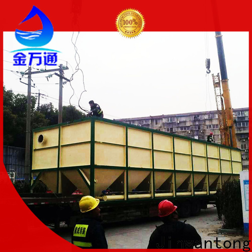 Jinwantong lamella clarifier factory for heavy metal remove