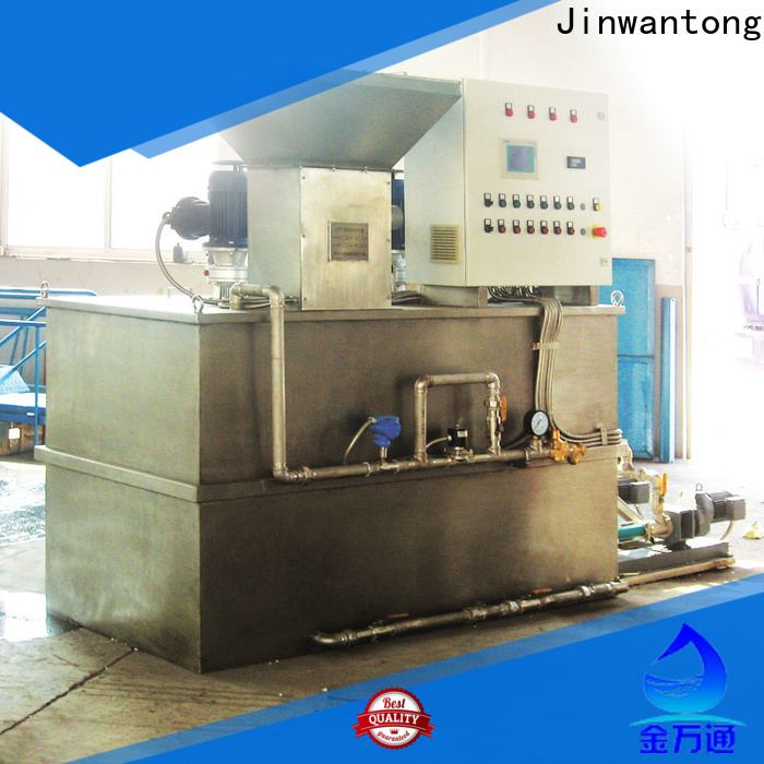 Jinwantong chemical dosing system for water treatment supply for powdered and liquid chemicals