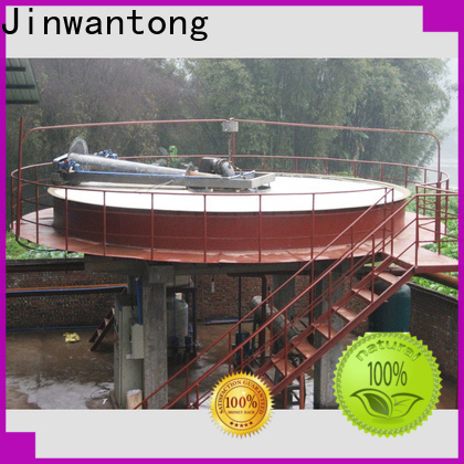 Jinwantong industrial wastewater treatment companies for business for secondary clarification