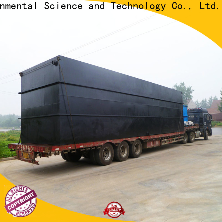 stable package sewage treatment plant directly sale for oilfield labor camp