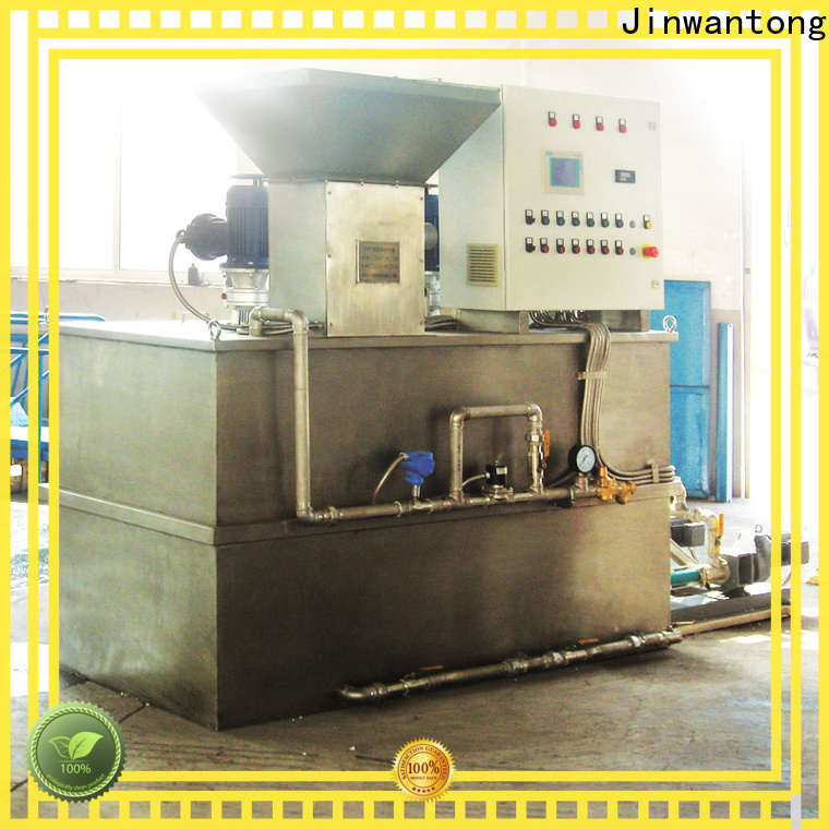 Jinwantong skid mounted chemical dosing system directly sale for mix water and chemicals