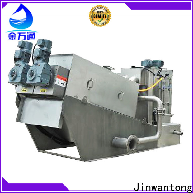 Jinwantong high-quality sludge dewatering equipment wastewater suppliers for wineries