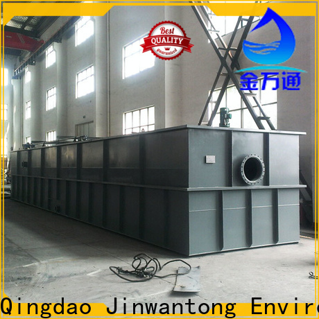 Jinwantong dissolved air flotation unit suppliers for removing suspended matters