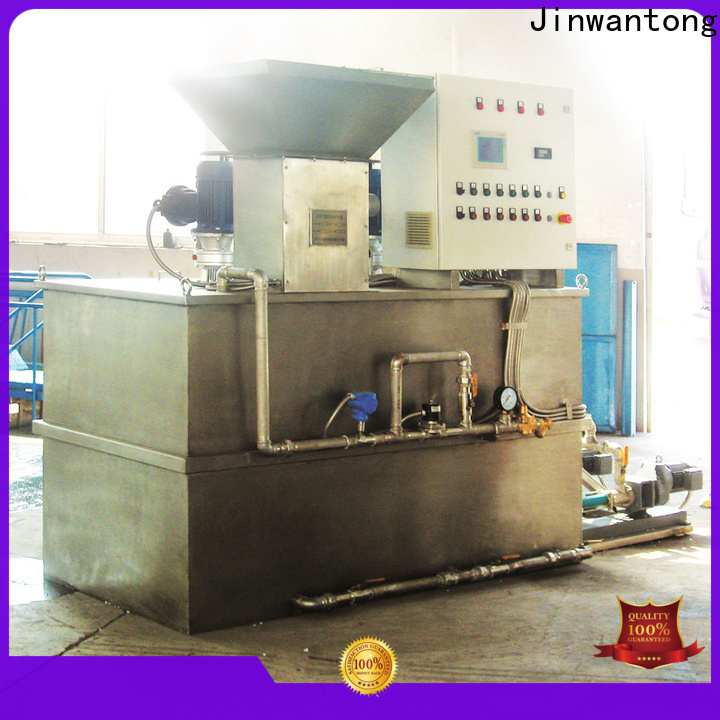 Jinwantong custom chemical dosing system for water treatment company for powdered and liquid chemicals