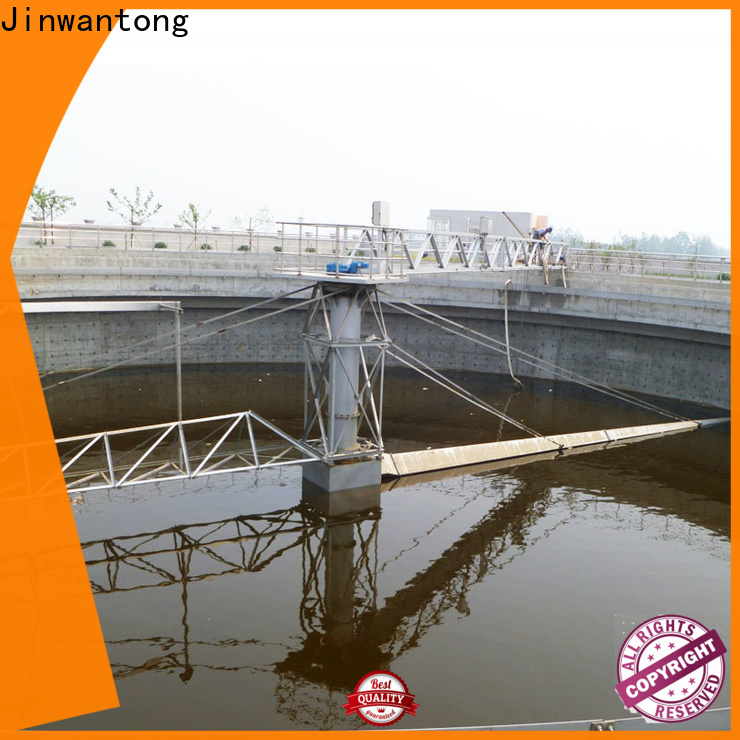 Jinwantong high strength sludge scraper manufacturers for final sedimentation tank