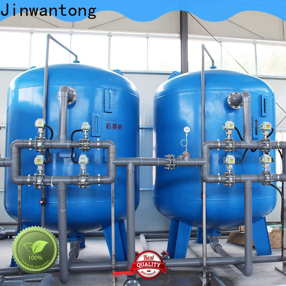 Jinwantong high-quality pressure sand filter customized for grit removal