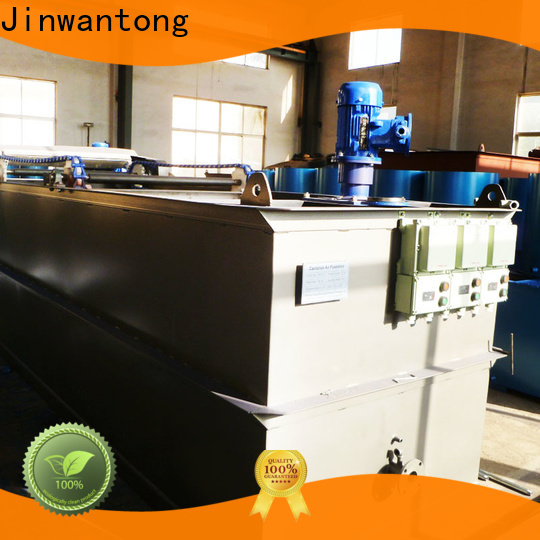 Jinwantong sewage treatment plant manufacturer company for product recovery
