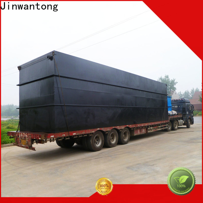 Jinwantong professional domestic sewage treatment plant factory for residential quarter