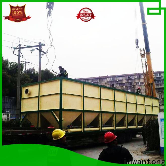 Jinwantong lamella settler factory price for heavy metal remove