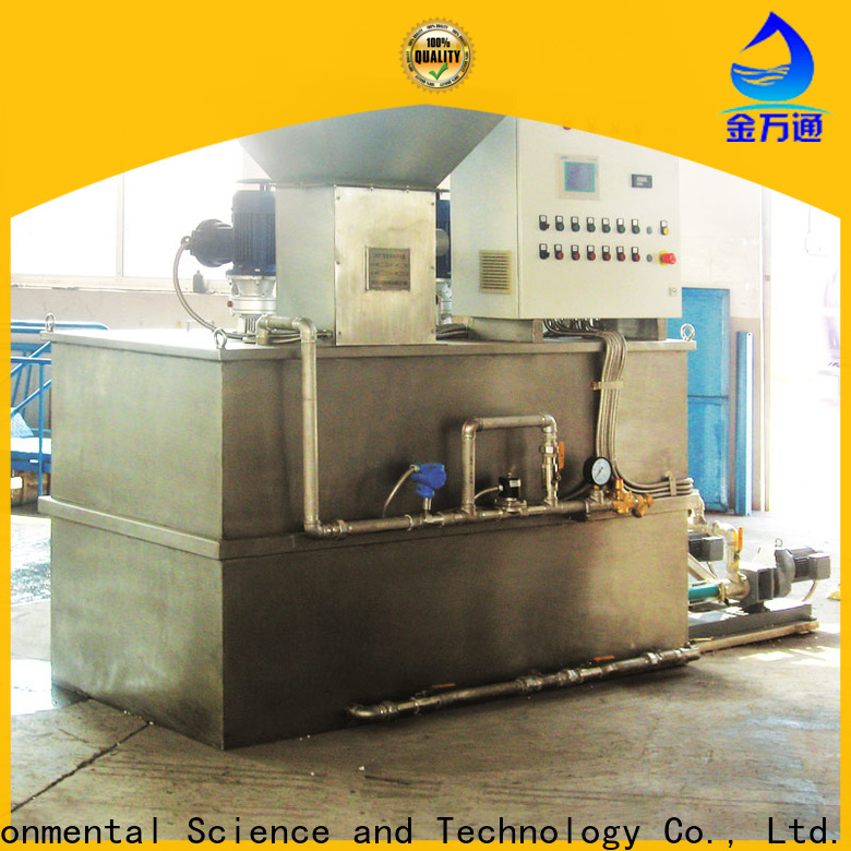 Jinwantong dosing equipment manufacturers supply for mix water and chemicals