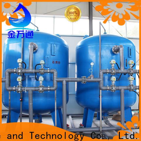 Jinwantong high effecient sand filter system for business for alga removal