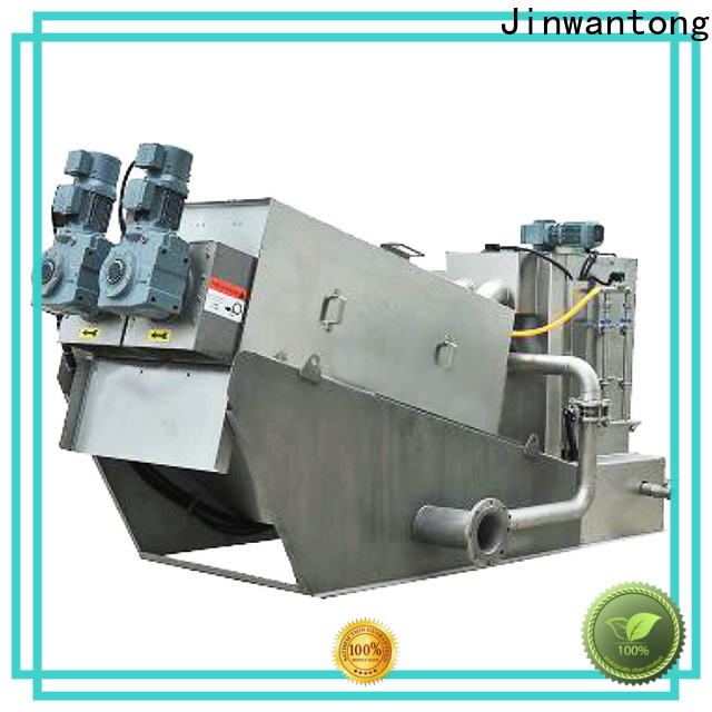 Jinwantong volute sludge dewatering machine for business for wineries