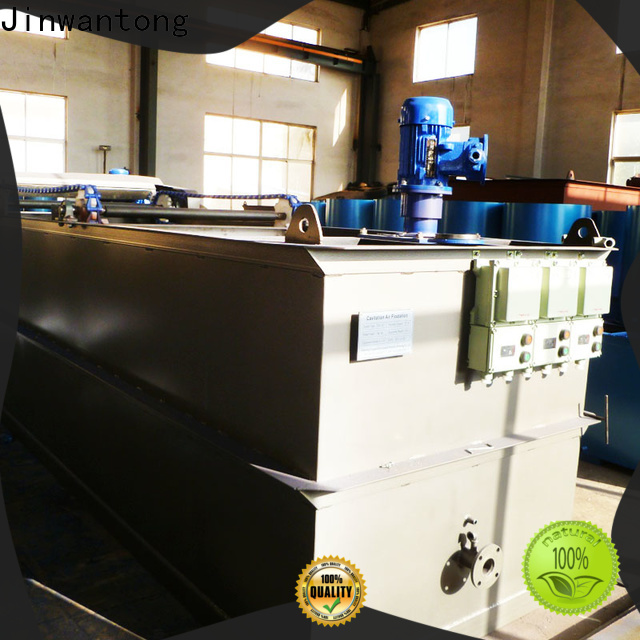 Jinwantong Waste water treatment caf suppliers for polishing of biological treatment effluent