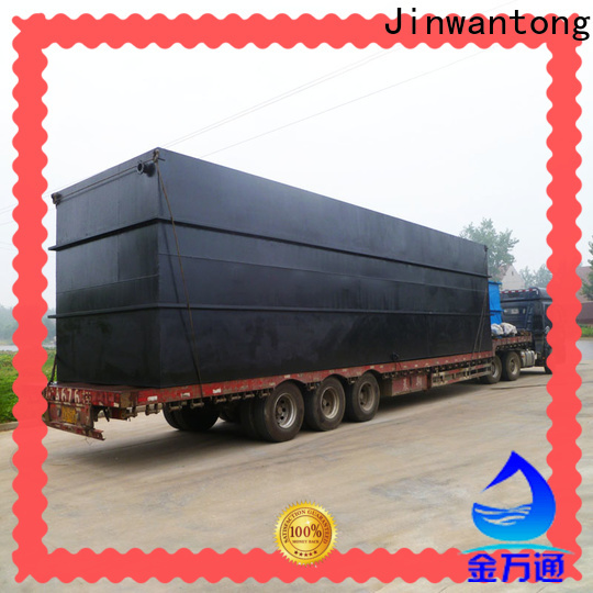 Jinwantong sewage treatment plant for business for hospital