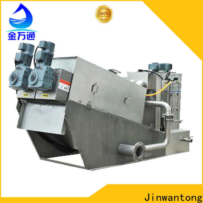 Jinwantong custom dewatering machine for sludge treatment supply for wineries
