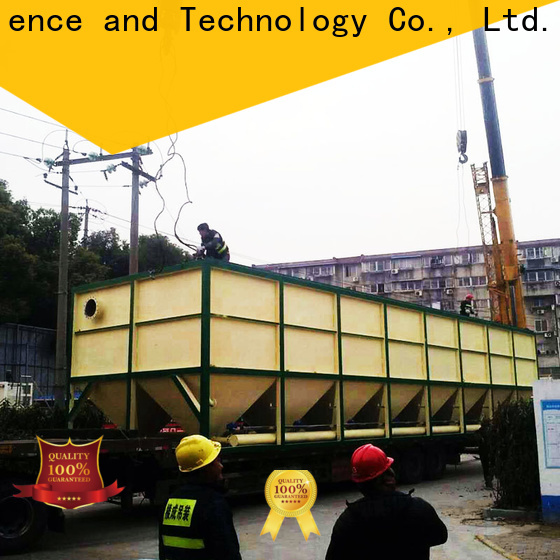 Jinwantong efficient lamella clarifier drawing for business for food industry