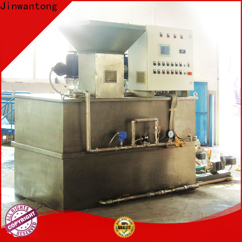 wholesale flocculant dosing system manufacturers for mix water and chemicals