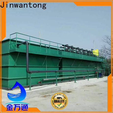Jinwantong types of wastewater treatment plants from China for food industry