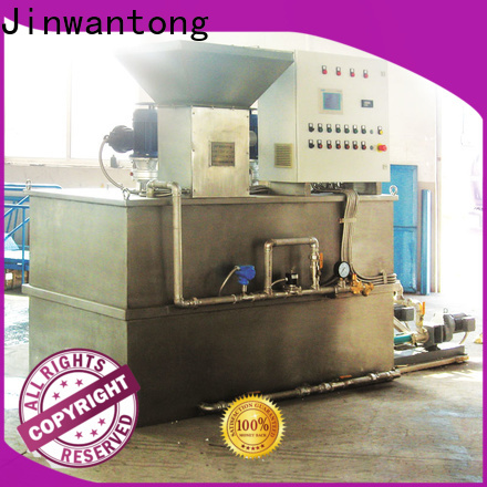 Jinwantong chemical dosing system manufacturer directly sale for powdered and liquid chemicals